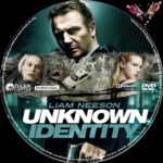 Unknown Identity (2010) R2 German Custom Label