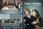 Grace and Frankie – Season 1 (2016) R1 Custom Cover & labels