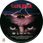 Cape Fear (1991) R1 Custom Label