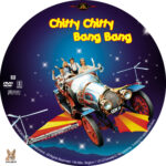 Chitty Chitty Bang Bang (1968) R1 Custom Label