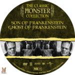 Son of Frankenstein / Ghost of Frankenstein (1939) R1 Custom label