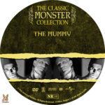 The Mummy (1932) R1 Custom label