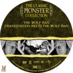 The Wolfman / Frankenstein Meets the Wolfman (1941) R1 Custom Label
