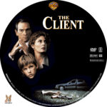 The Client (1994) R1 Custom label