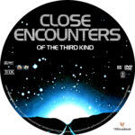 Close Encounters of the Third Kind (1977) R1 Custom Labels