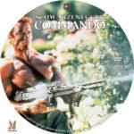 Commando (1985) R1 Custom Label