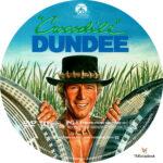 Crocodile Dundee (1986) R1 Custom Label