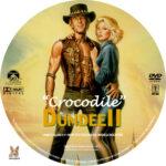 Crocodile Dundee II (1988) R1 Custom Label