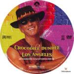 Crocodile Dundee in Los Angeles (2001) R1 Custom Label