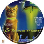 The Cat from Outer Space (1978) R1 Custom Label