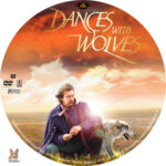 Dances with Wolves (1990) R1 Custom Label