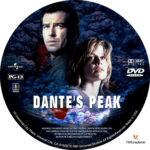 Dante's Peak (1997) R1 Custom Label