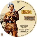 Davy Crockett Double Feature (2004) R1 Custom Label