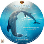 Dolphin Tale 2 (2014) R1 Custom DVD Label