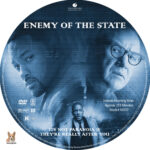 Enemy of the State (1998) R1 Custom label