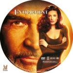 Entrapment (1999) R1 Custom label