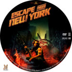 Escape from New York (1981) R1 Custom Label