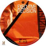 Executive Decision (1996) R1 Custom Labels
