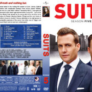 Suits – Season 5 (2016) R1 Custom Cover & labels