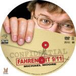 Fahrenheit 9/11 (2004) R1 Custom labels