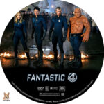 Fantastic 4 (2005) R1 Custom Label