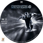 Fantastic 4: Rise of the Silver Surfer (2007) R1 Custom Label
