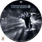 Fantastic 4: Rise of the Silver Surfer (2007) R1 Custom Label