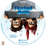 Flushed Away (2006) R1 Custom labels