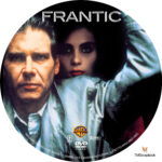 Frantic (1987) R1 Custom Label