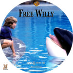 Free Willy (1993) R1 Custom label