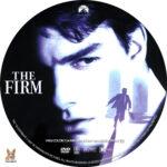 The Firm (1993) R1 Custom Label