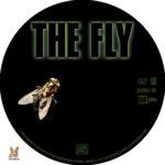 The Fly (1986) R1 Custom Label