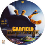 Garfield: The Tail of Two Kitties (2006) R1 Custom Label