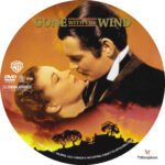 Gone With the Wind (1939) R1 Custom Label