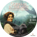 Gorillas in the Mist (1988) R1 Custom label