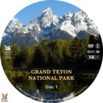 Grand Teton National Park (2009) R1 Custom label