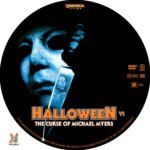 Halloween VI: The Curse of Michael Myers (1995) R1 Custom Label