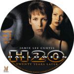 Halloween H2O: Twenty Years Later (1998) R1 Custom Label