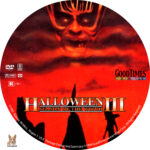 Halloween III: Season of the Witch (1982) R1 Custom Label