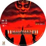 Halloween III: Season of the Witch (1982) R1 Custom Label