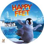 Happy Feet (2006) R1 Custom Labels