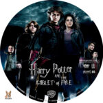 Harry Potter and the Goblet of Fire (2005) R1 Custom Labels