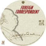 Foreign Correspondent (1940) R1 Custom label
