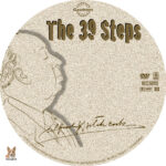 The 39 Steps (1935) R1 Custom label