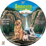 Homeward Bound: The Incredible Journey (1993) R1 Custom Labels