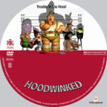 Hoodwinked (2006) R1 Custom label