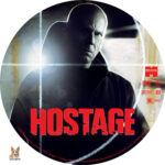Hostage (2005) R1 Custom label