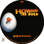 Howard the Duck (1986) R1 Custom Labels