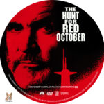 The Hunt for Red October (1990) R1 Custom Label