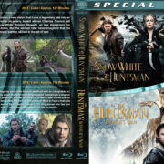 Snow White & the Huntsman / The Huntsman: Winter's War Double (2012-2016) R1 Custom Blu-Ray Cover